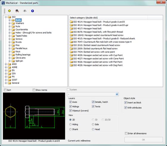 Serie CP-Symbols Mechanical